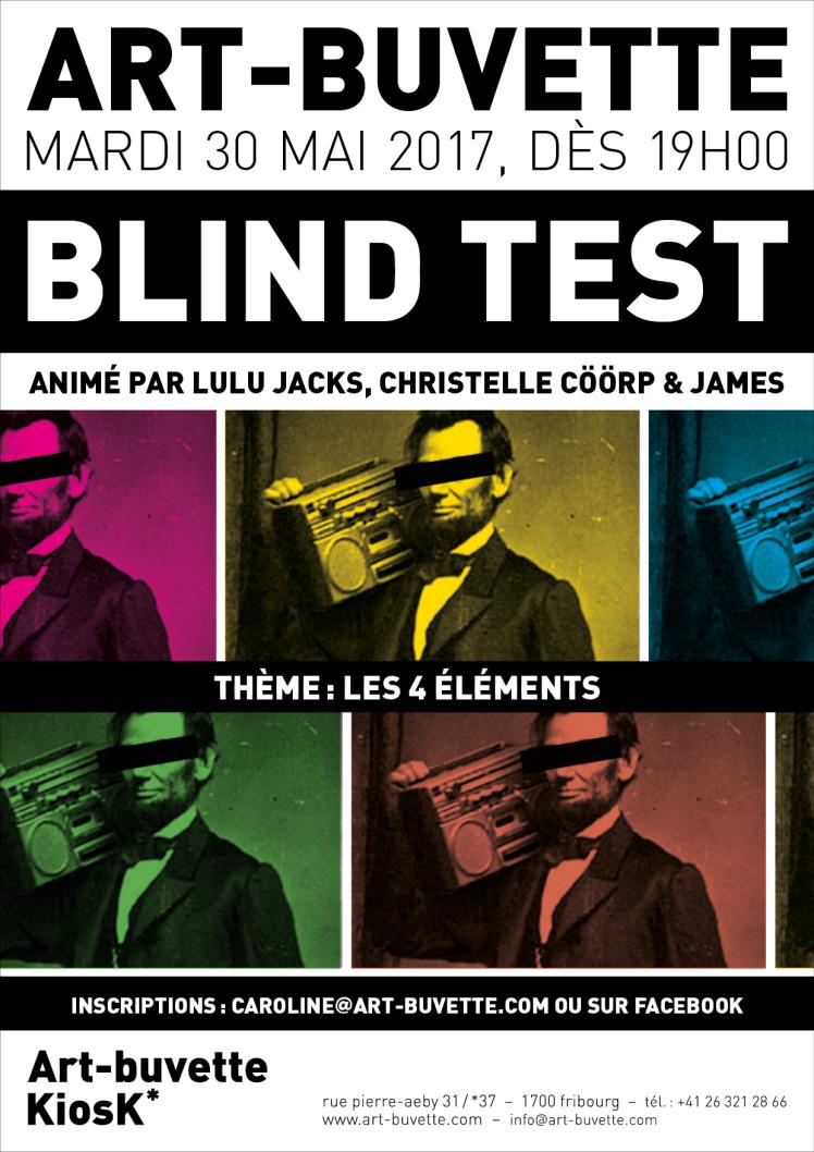 Blind Test 30.05